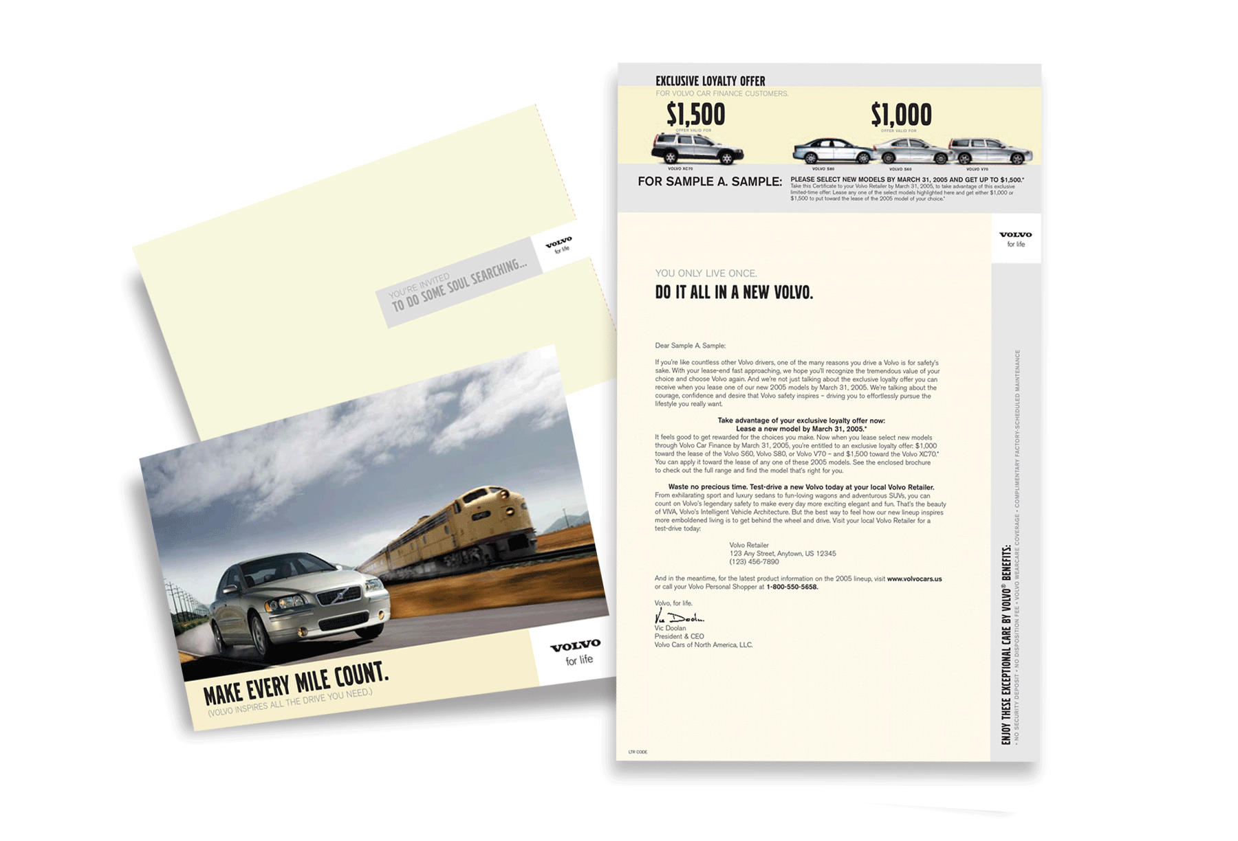 Volvo - Loyalty Mailer
